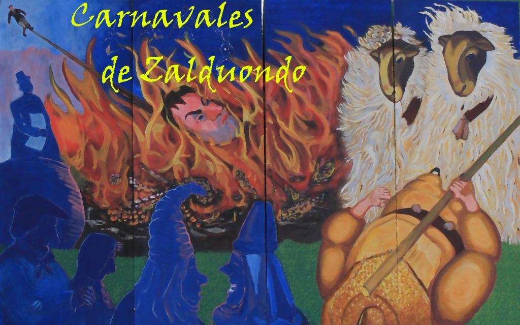 Mural del Carnaval de Zalduondo